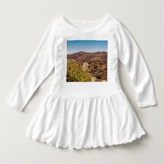 Vestido Estrada só do deserto da árvore de Joshua