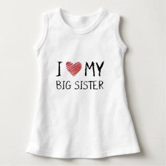 Vestido Eu amo minha irmã mais velha