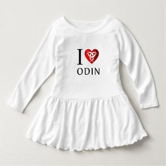 Vestido Eu amo Odin