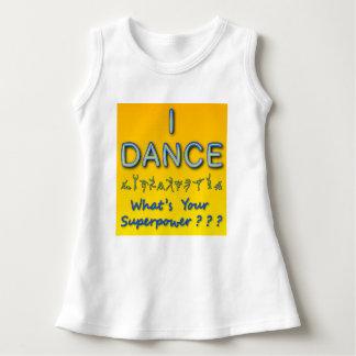 Vestido Eu danço - o que é sua superpotência - o t-shirt