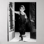 Vestido fabuloso do Flapper: 1920 Impressão