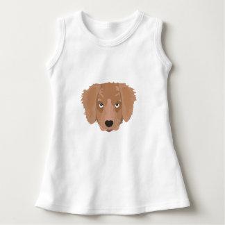 Vestido Filhote de cachorro insolente bonito