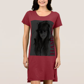 Vestido HAMbWG - t-shirt - logotipo 4 de w da cara de