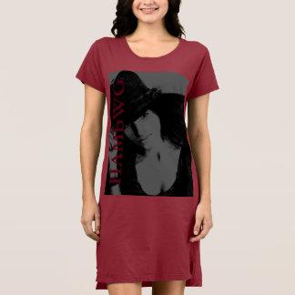 Vestido HAMbWG - t-shirt - logotipo 6 de w da cara de