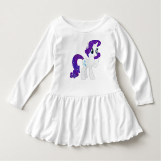Vestido longo da luva da criança tshirts