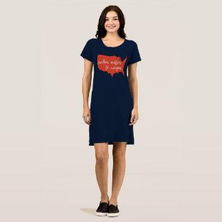 Vestido Matérias da liberdade a todos vestido/camisa dos