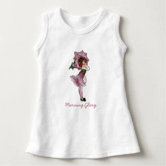 Vestido Menina engraçada floral bonito da criança de flor