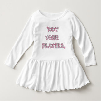 Vestido Not Your Player 2 Baby
