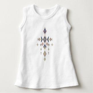 Vestido Ornamento asteca tribal étnico do vintage