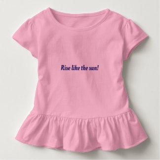 Vestido para meninas com citações de inspiração