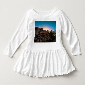 Vestido Parque nacional de árvore de Joshua do nascer do