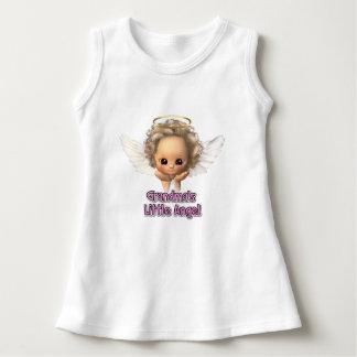 Vestido pequeno do anjo da avó