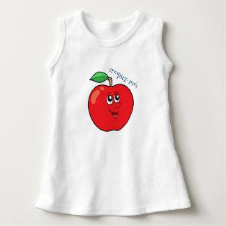 """Vestido pingamento bebé maçã """"trinca """""""