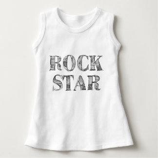 "Vestido Pingamento bebé ""Rock Star """