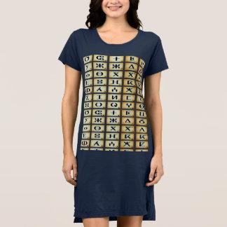 Vestido pingamento t-shirt tifinagh berbère