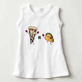 Vestido Pizza de Pepperoni CONTRA o Taco: Mexicano contra