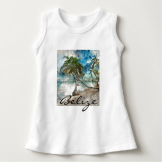 Vestido Praia no Ambergris Caye Belize