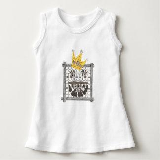 Vestido Rei Sudoku Bebê Pingamento