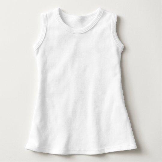 Vestido sem Mangas, Branco