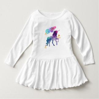 Vestido Unicórnio super do bebê