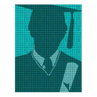Vestido vazio do cartão 8 da graduação 2011