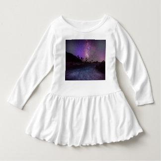 Vestido Via Láctea do parque nacional de árvore de Joshua