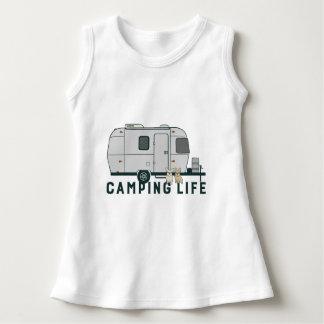Vestido Vida de acampamento feliz com Frenchies bonitos