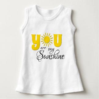 Vestido Você é minha luz do sol