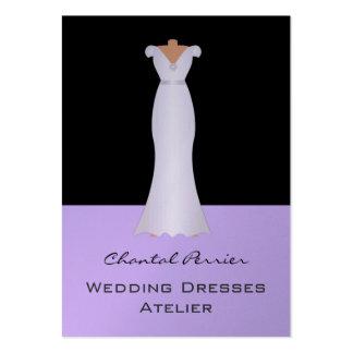 Vestidos de casamento cartão de visita grande