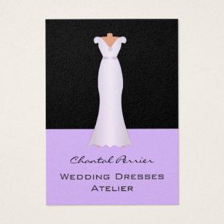 Vestidos de casamento cartão de visitas
