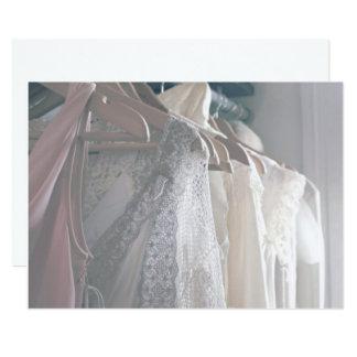 Vestidos macios convite 12.7 x 17.78cm