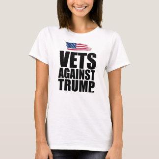 VetAgainstTrump.com (branco) Camiseta
