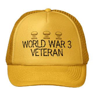 Veterano da guerra mundial 3 boné