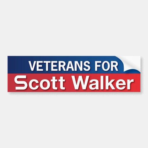 Veteranos para o caminhante de Scott Adesivos