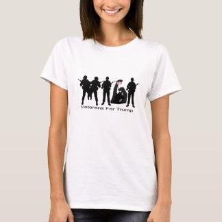Veteranos para o Tshirt do trunfo MAGA Camiseta