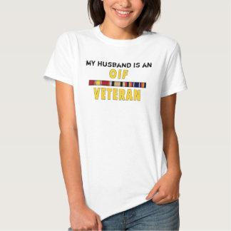 Veterinário de OIF, meu marido T-shirts