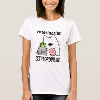 Veterinário Extraordinaire Camiseta