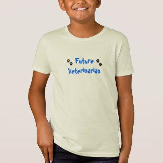 Veterinário futuro camiseta