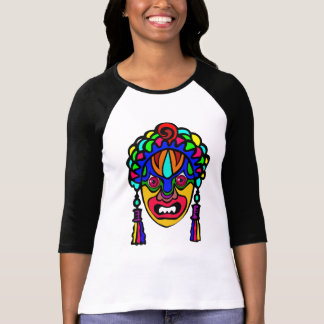 Vetor - africano, máscara religiosa camiseta