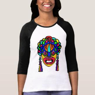 Vetor - africano, máscara religiosa tshirt