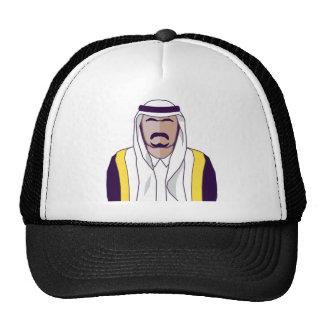 Vetor árabe do príncipe boné