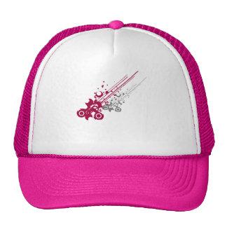 vetor cor-de-rosa boné