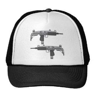 Vetor da arma de Uzi Boné