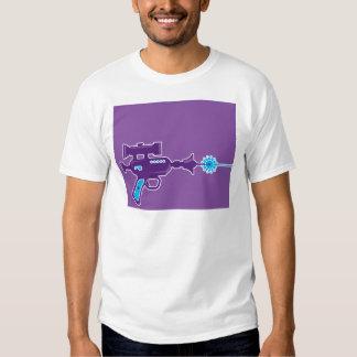 Vetor da arma do laser t-shirts