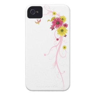 vetor das margaridas do cobrir do iPhone 4/4S Capinhas iPhone 4