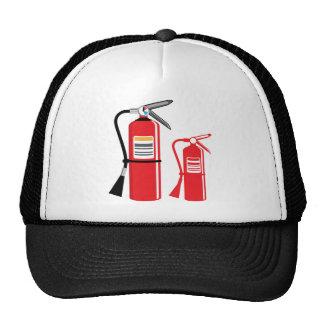 Vetor do extintor boné