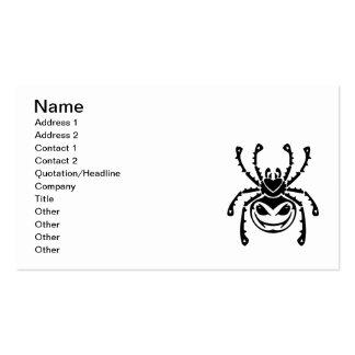 vetor tribal da ARANHA png_spiders_tattoo_006 ASSU Cartões De Visita