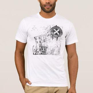 vetor urbano da cidade camiseta