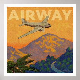 Via aérea pôsteres