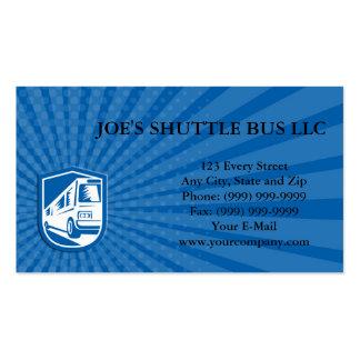Viagem da camioneta expresso do treinador do cartão de visita